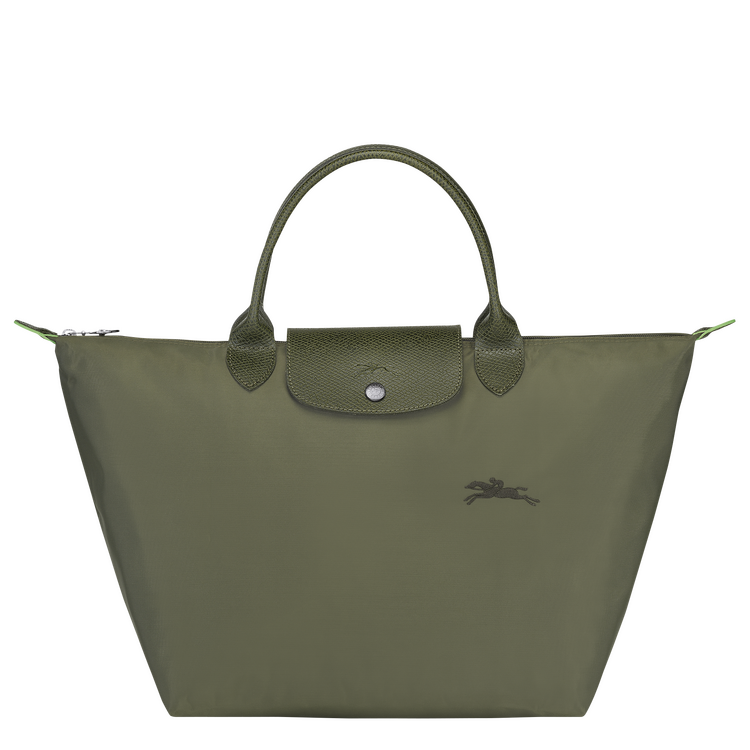 'LE PLIAGE®' GREEN TOP HANDLE BAG M IN FOREST, RM595