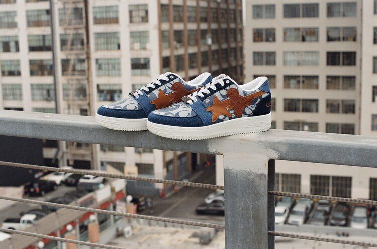BAPE® X Coach 'BAPESTA' Sneaker