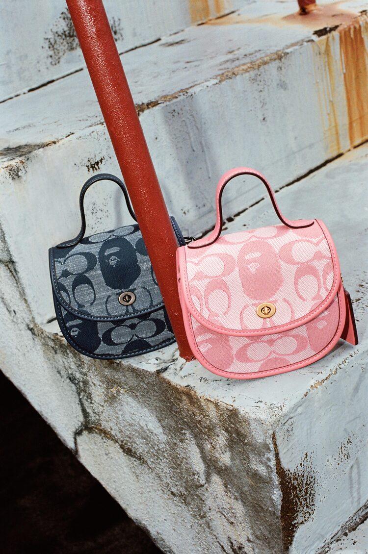 BAPE® X Coach Mini Top Handle Bag
