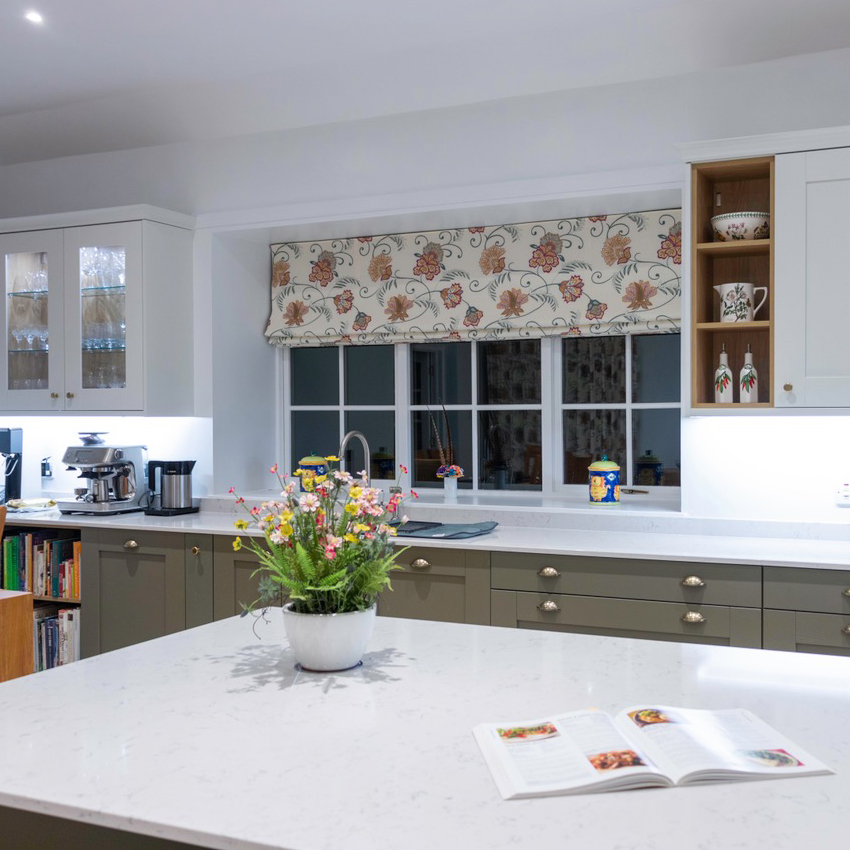 kitchen roller blind, automatic