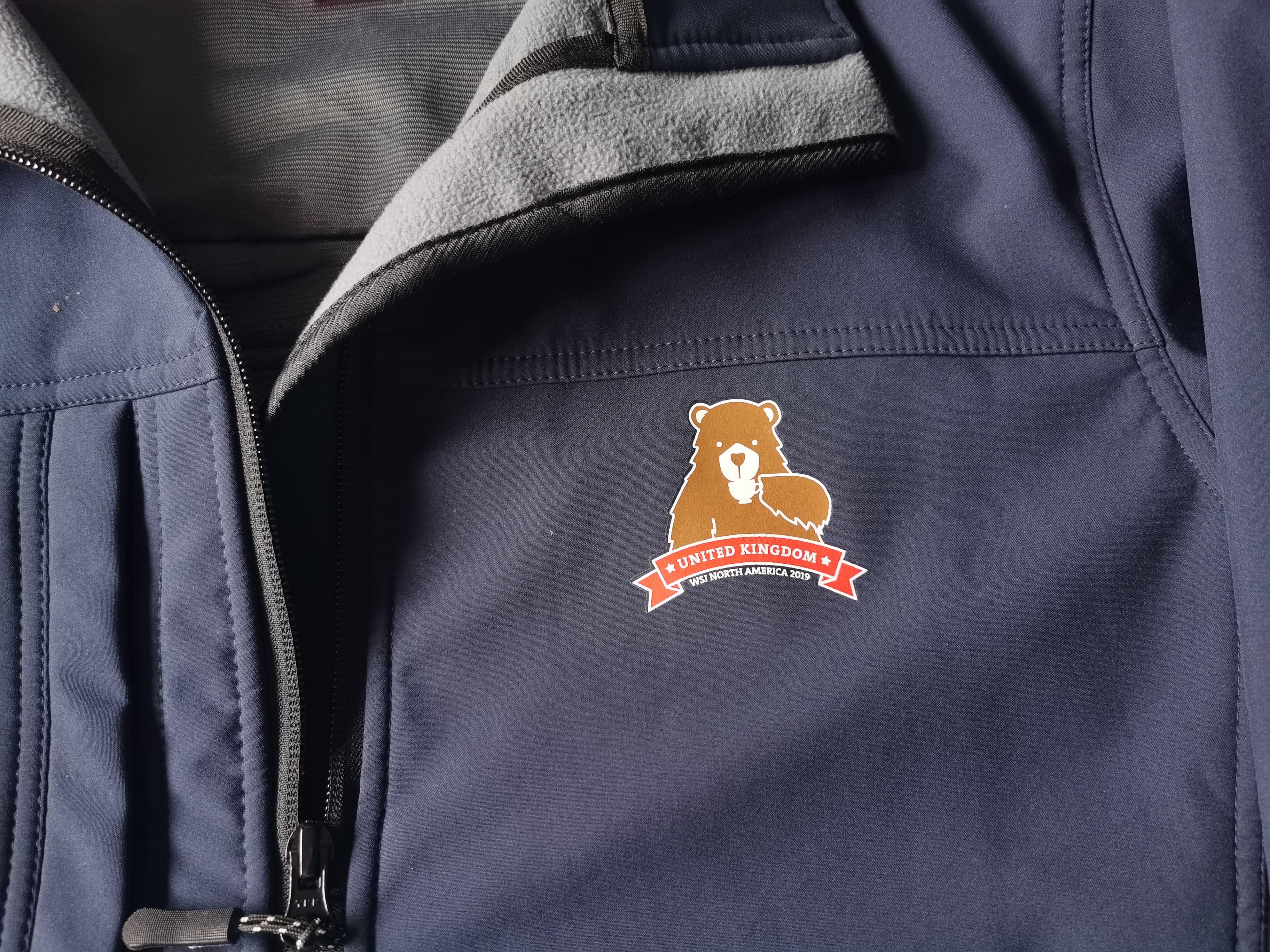 World Scout Jamboree Unit Leader softshell jacket