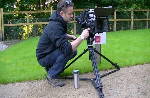 Bracken Media filming at Dronfield