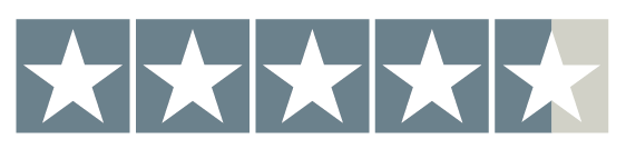 review stars showing 4.6 stars
