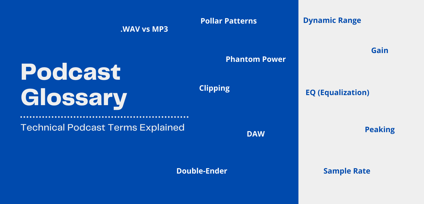 Podcast Terms Explained. A Technical Guide to Podcasting