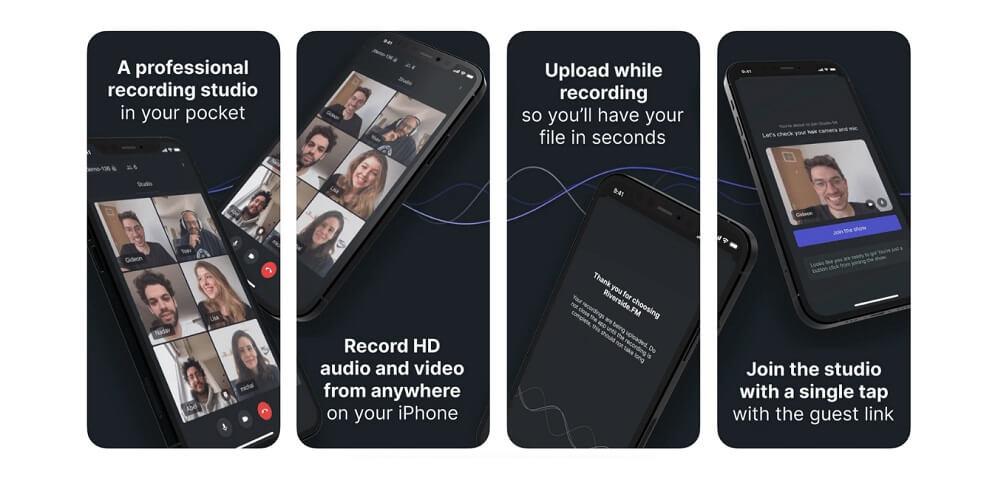 Introducing the Riverside.fm iOS App