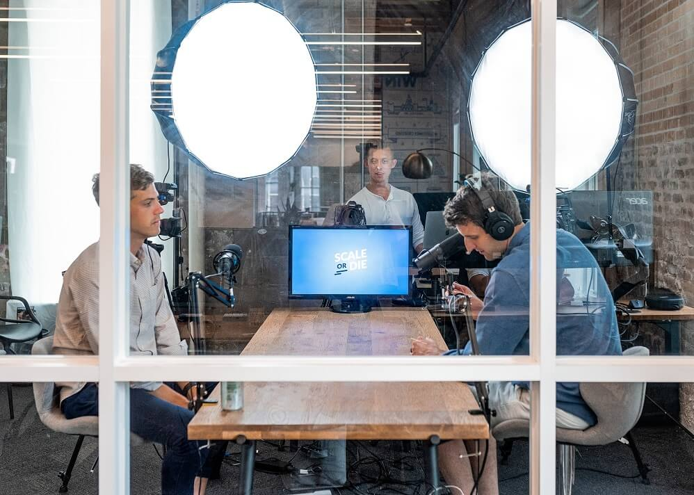 offline studio view