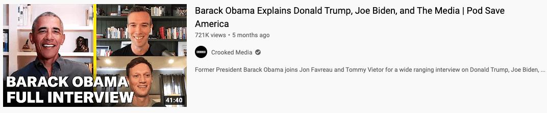 pod save america podcast episode with barack obama