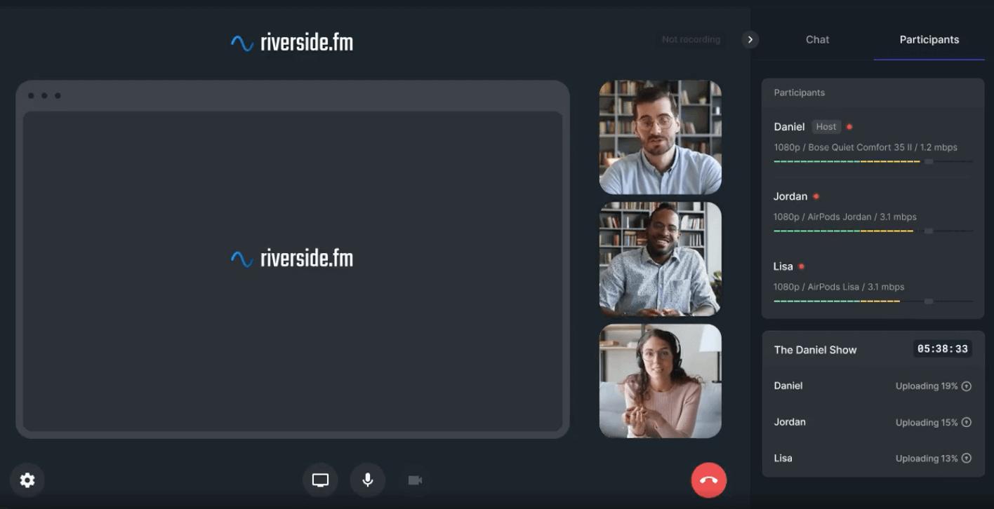 riverside online recording studio