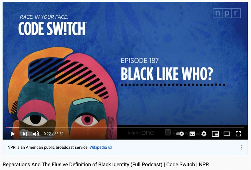 npr code switch