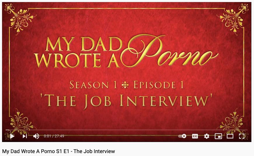 my dad wrote a porno podcast