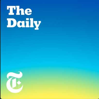 the daily podcast cover art new york times