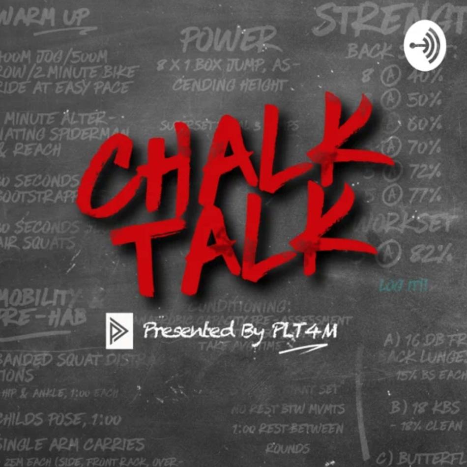 chalk talk presented by PLT4M