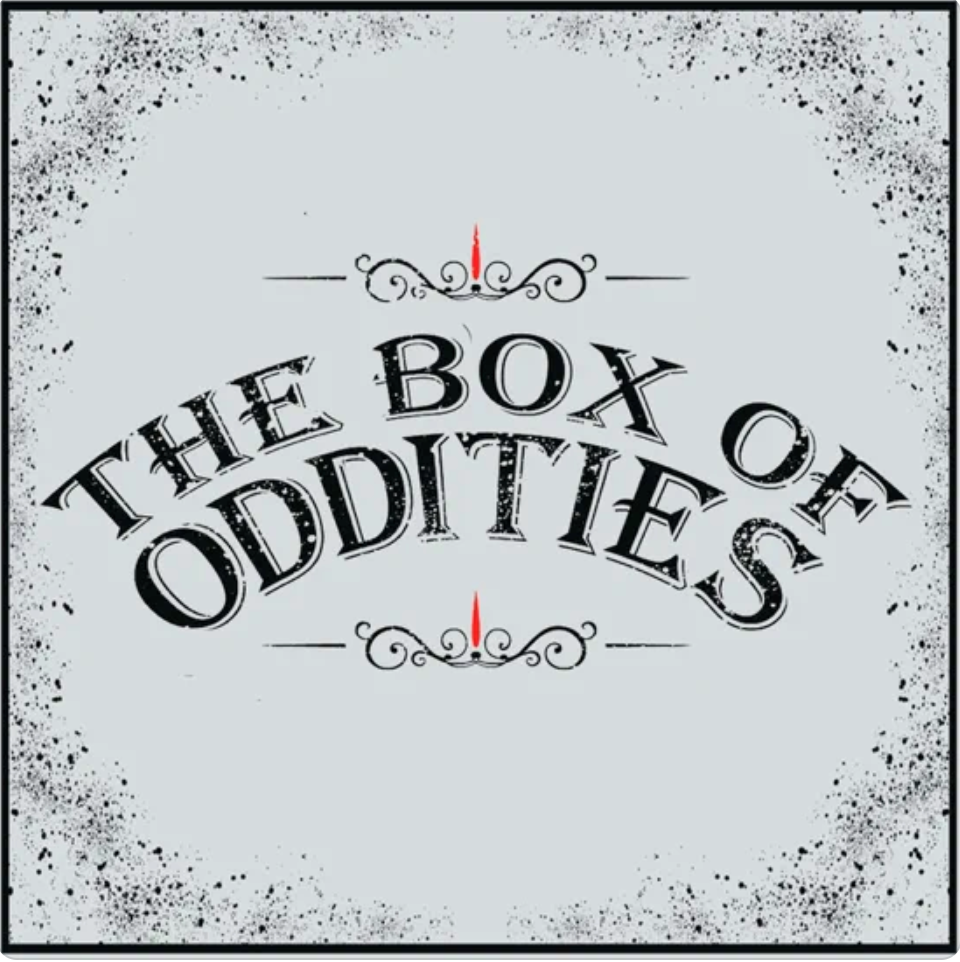The box of oddities cover