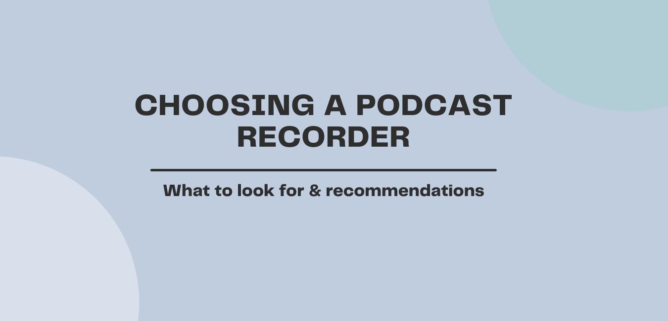 Podcast recorder