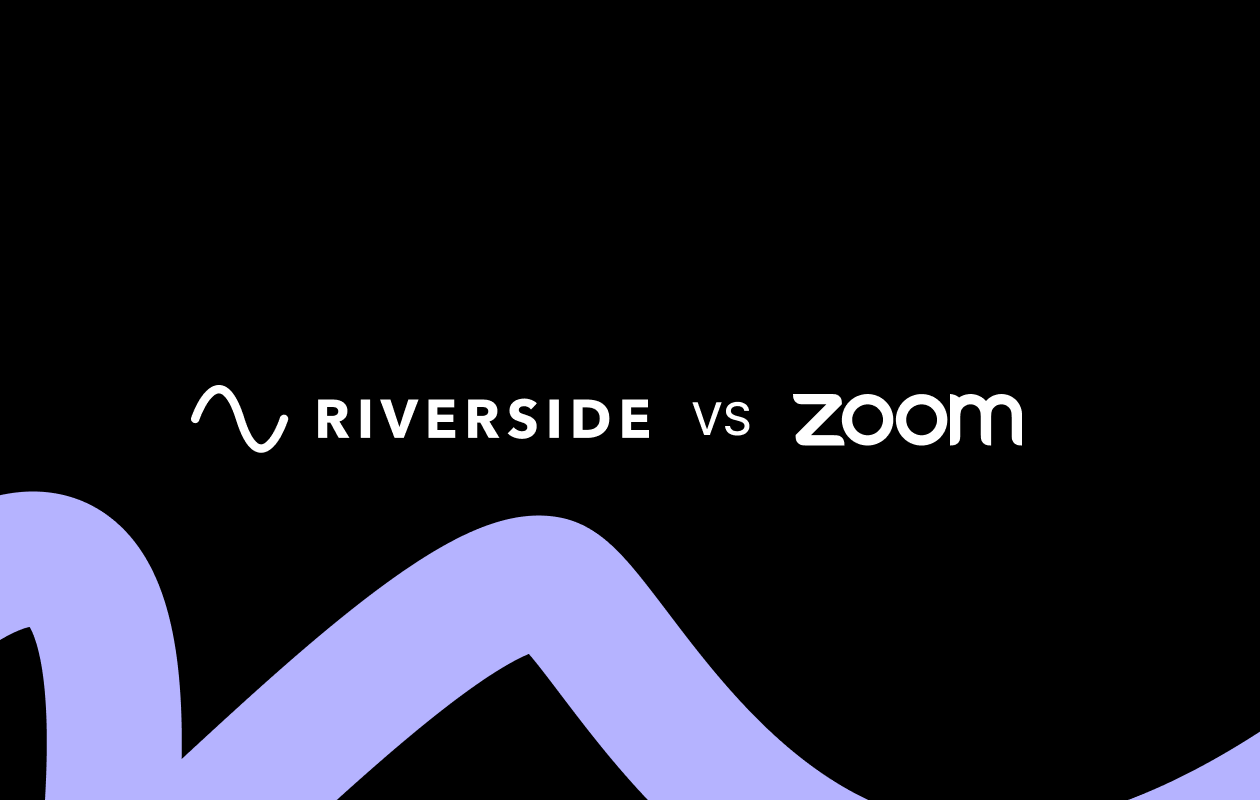 Zoom for podcasting and Riverside.fm as alternative recording tool