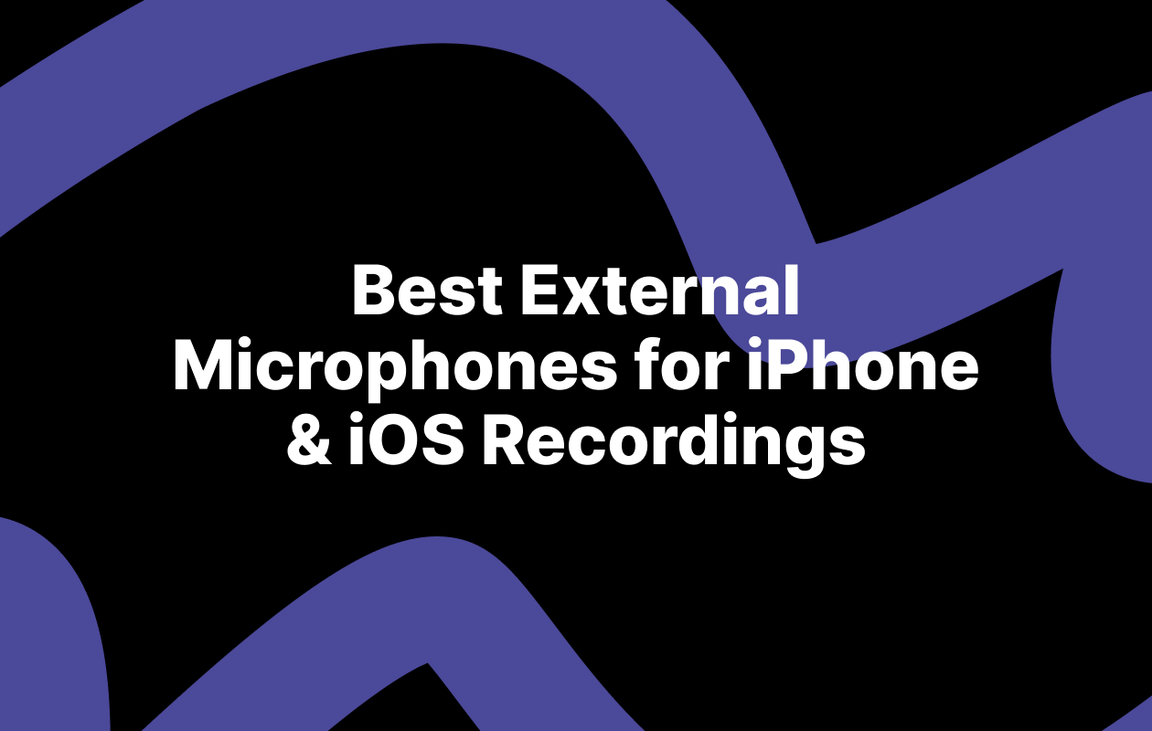 external microphones for iphone