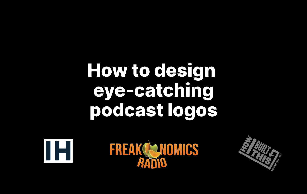 How to Design Eye-Catching Podcast Logos - cover image