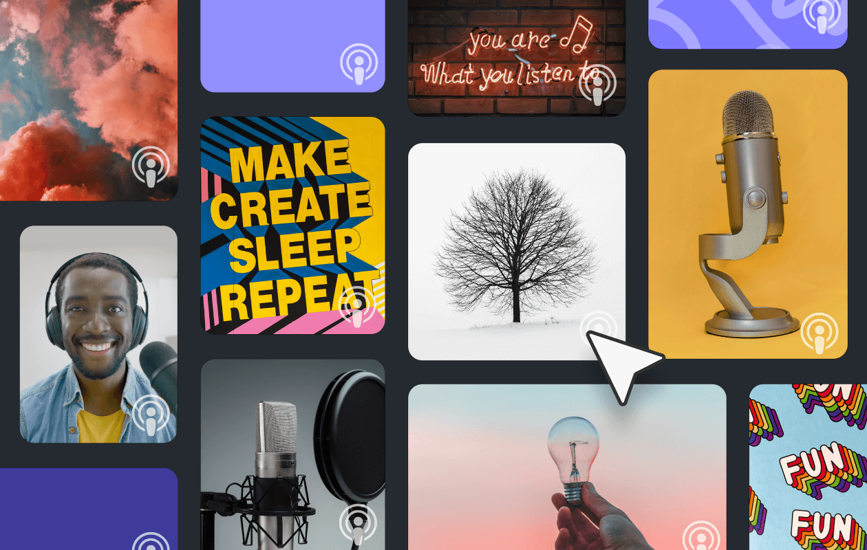 How to make podcast cover art that works