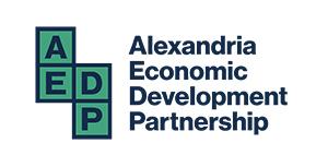 logo for the alexandria city economic development partnership