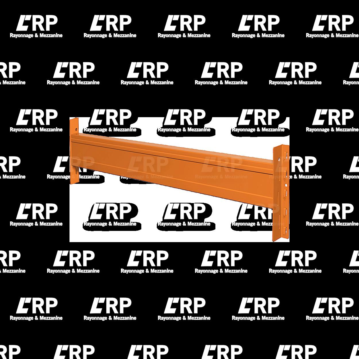 Lisse 2700mm pour 3 palettes Europe / 3000kg par paire de lisse