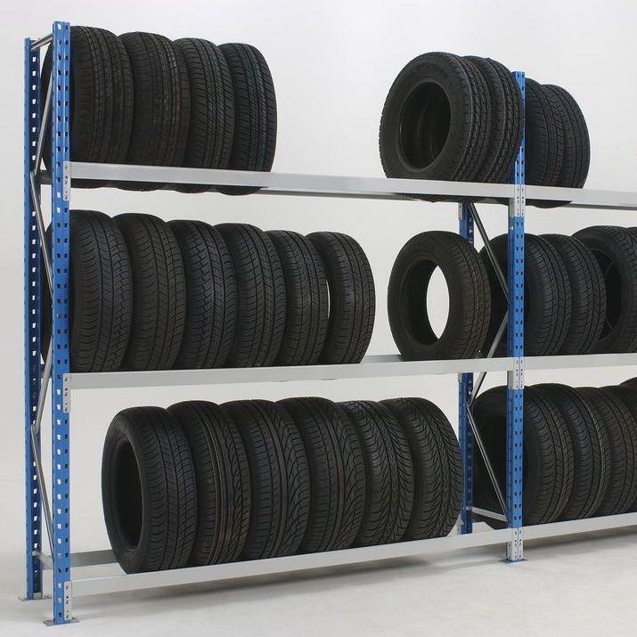 Rack à pneu 2 travées 3 niveaux