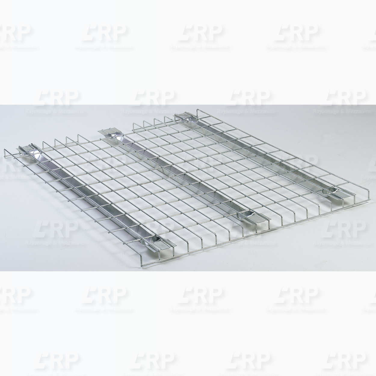 Platelage filaire - support pour palette dans rack palettier