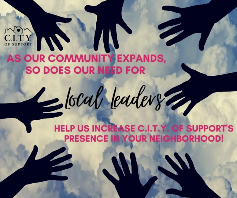 CITY of Support - Local Leaders - Get Involved in Your City