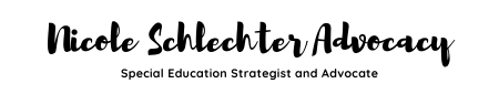 Nicole Schlechter Advocacy Logo