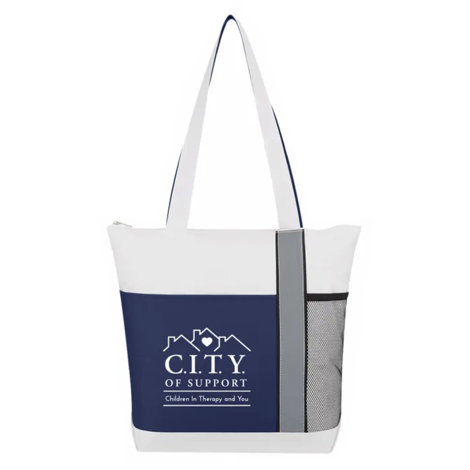 C.I.T.Y. Zippered Tote Bag