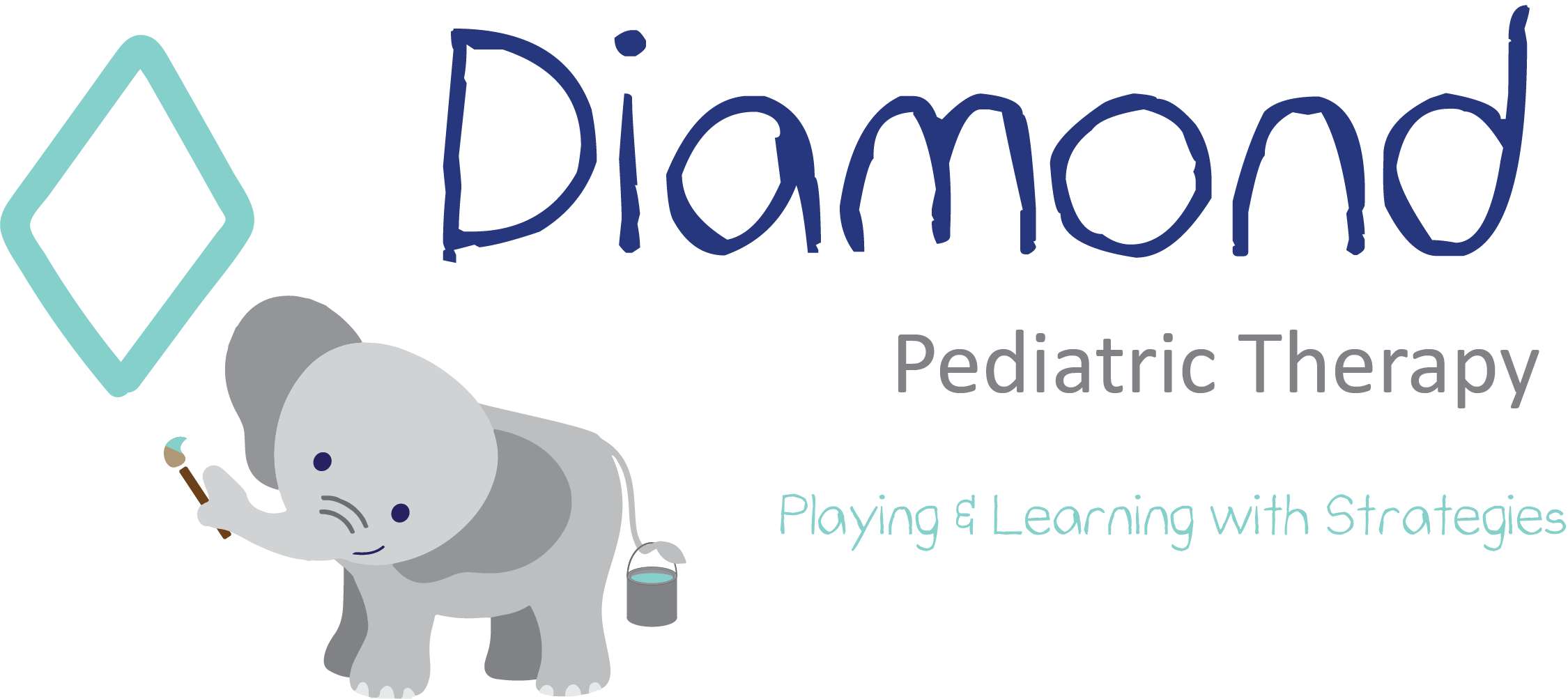 Diamond Pediatric Therapy Company Logo