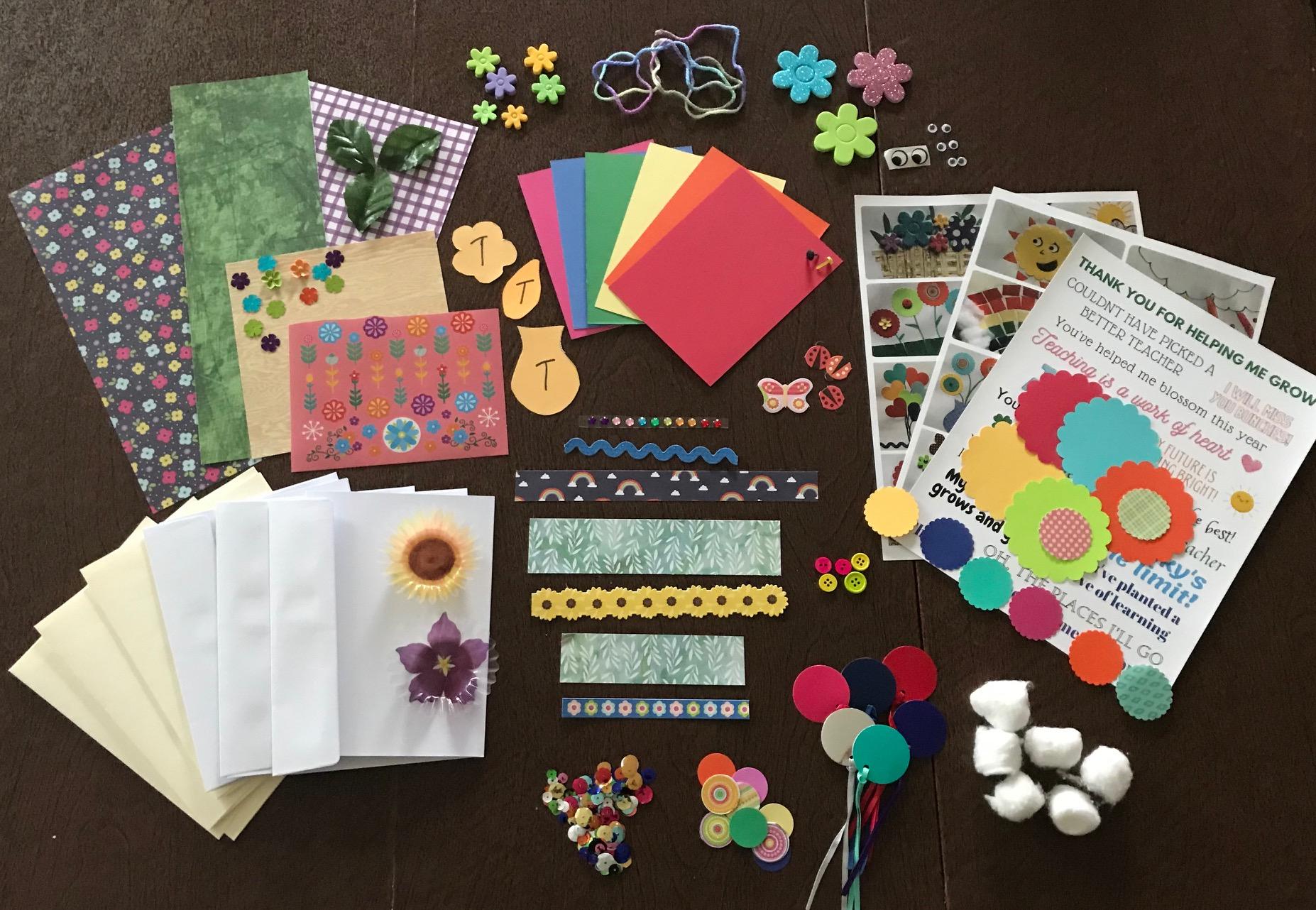 Teacher Appreciation Creative Card Package