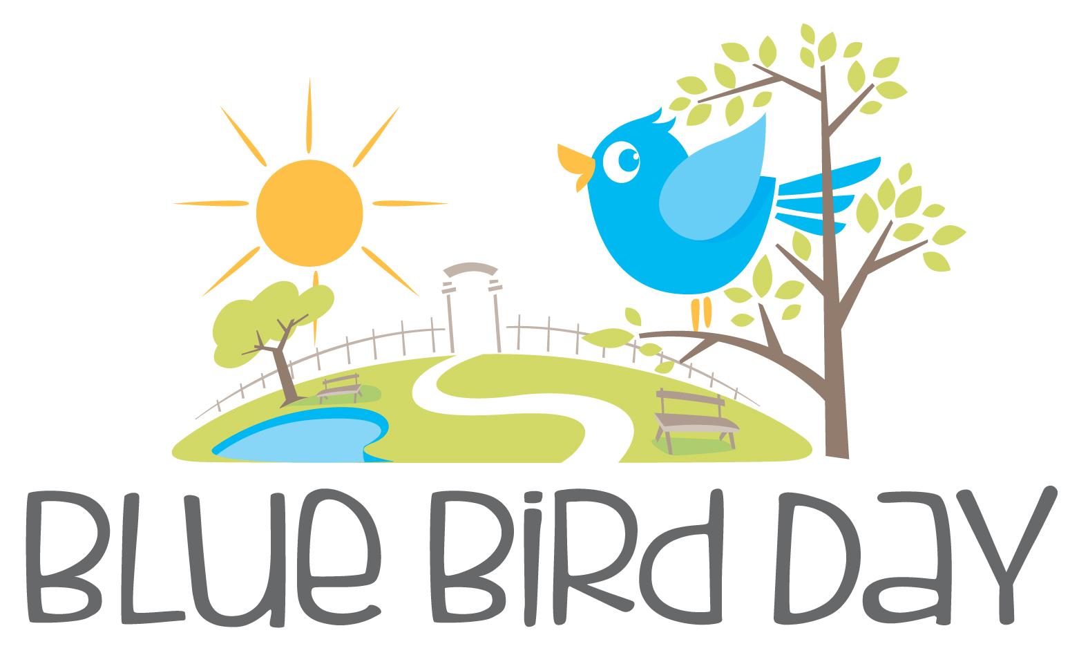 Blue Bird Day Logo