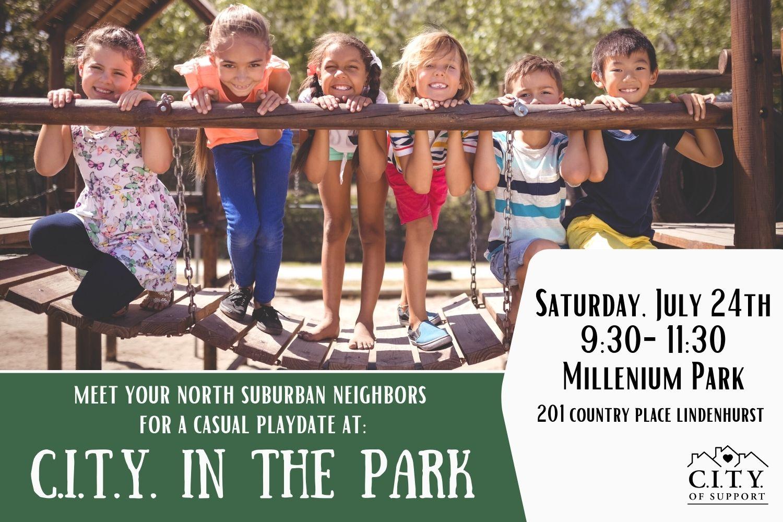 North Suburban Park Playdate