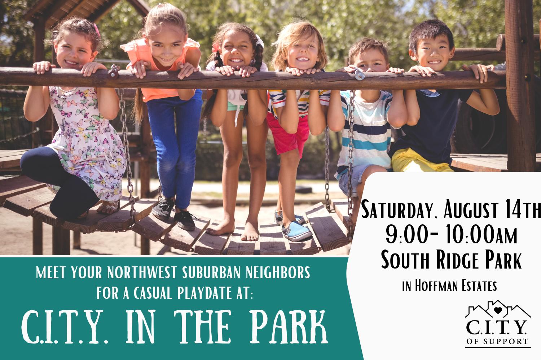 Northwest Suburban Park Playdate