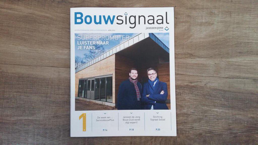 Janssen de Jong Bouw Zuid wordt digi-expert!