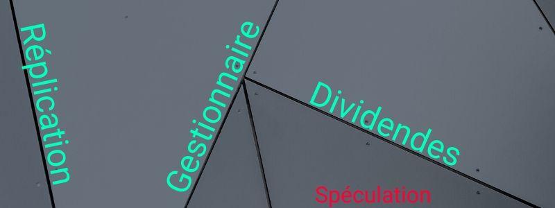 Caractéristiques différences entre ETF