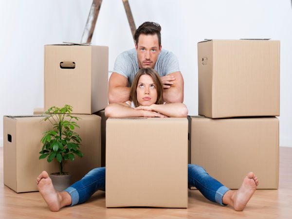 Moving Stressful on a Relationship