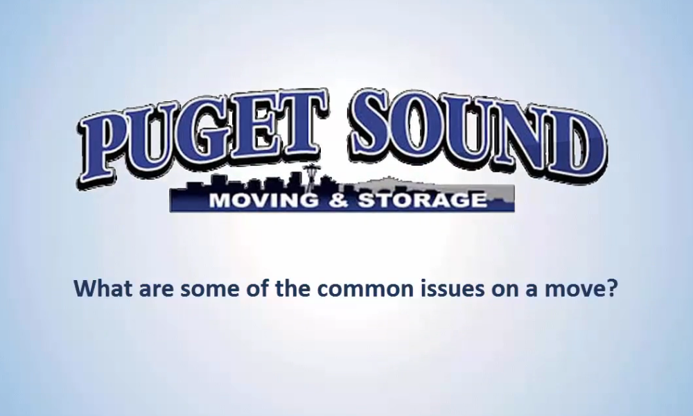 What Are Some Common Issues When Moving?
