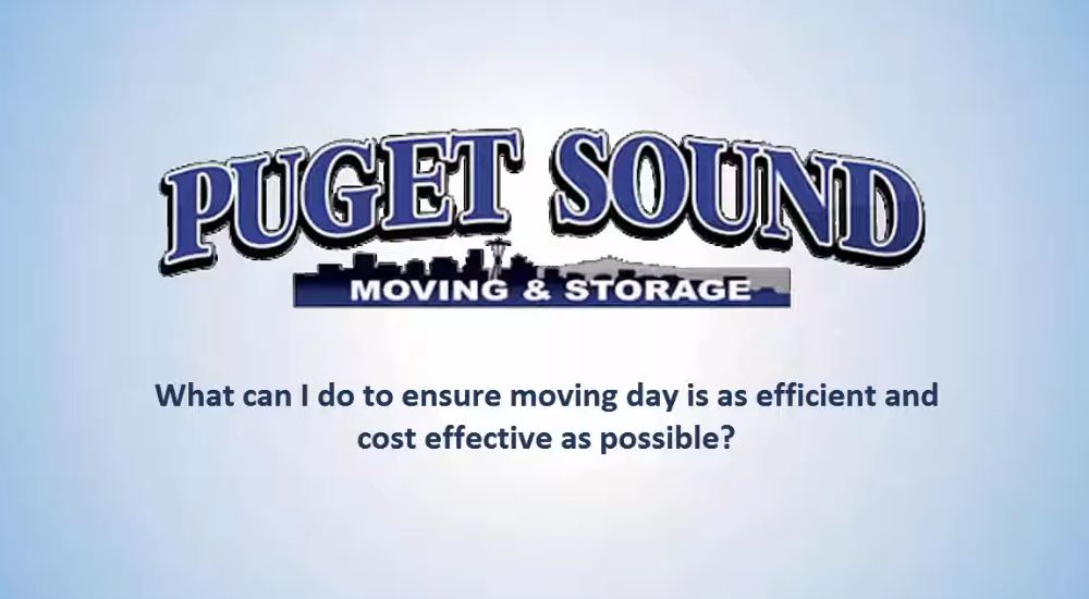 What To Do To Make Moving Day Efficient and Cost Effective