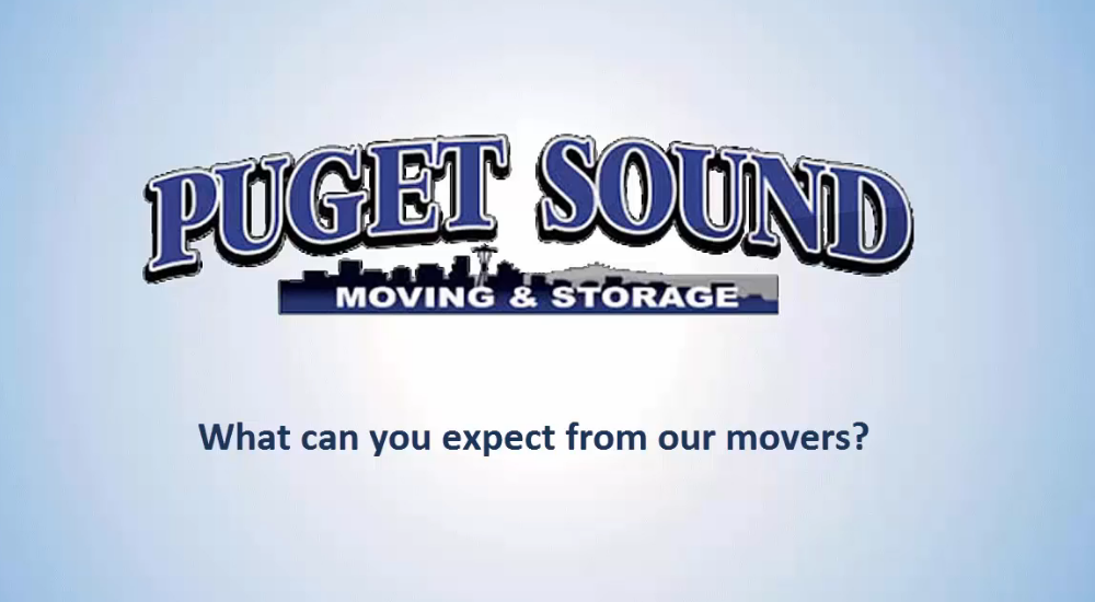 What can you expect from the movers at Puget Sound Moving?