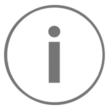 An information icon