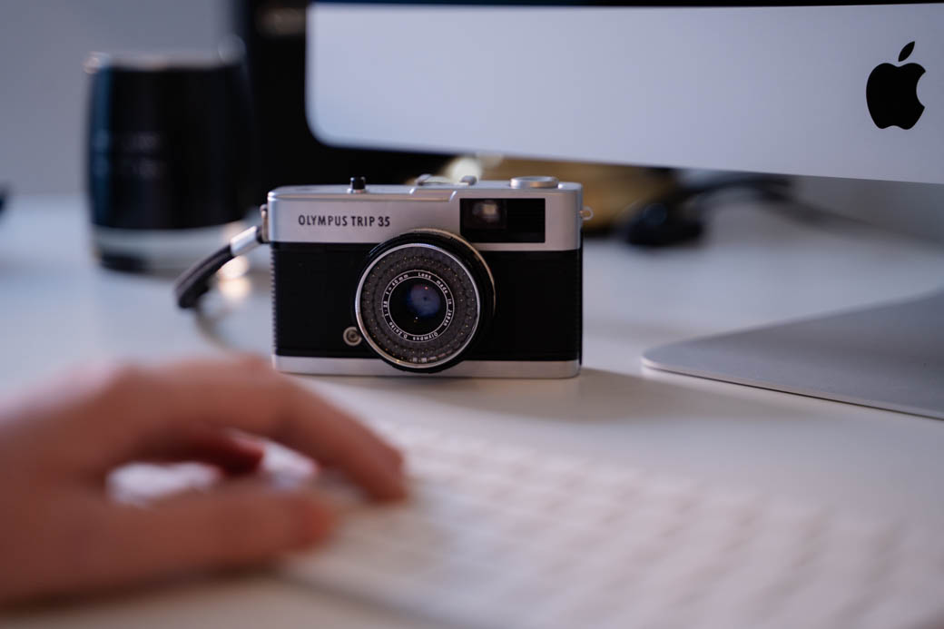 Photography for website design