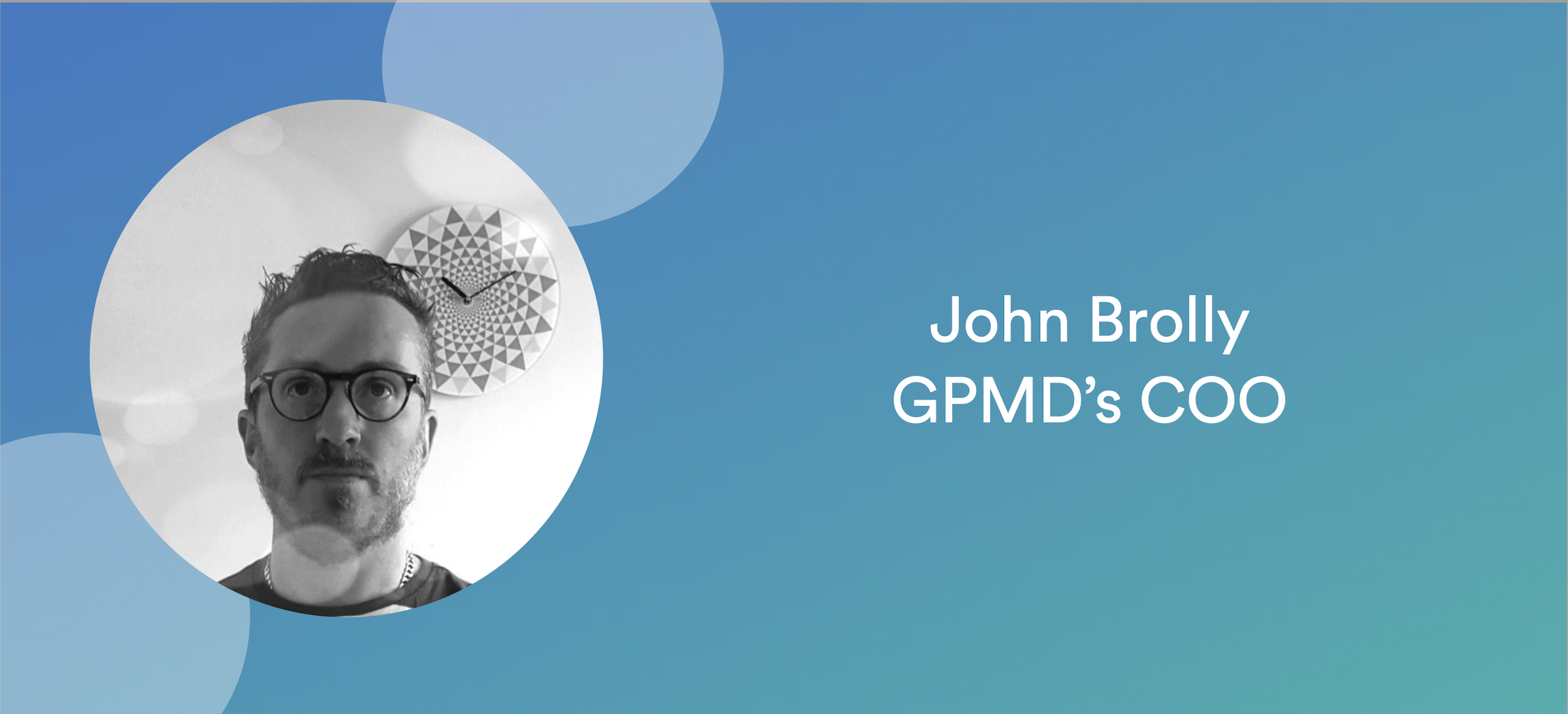 GPMD Employee Spotlight: Our COO's roadmap for growth