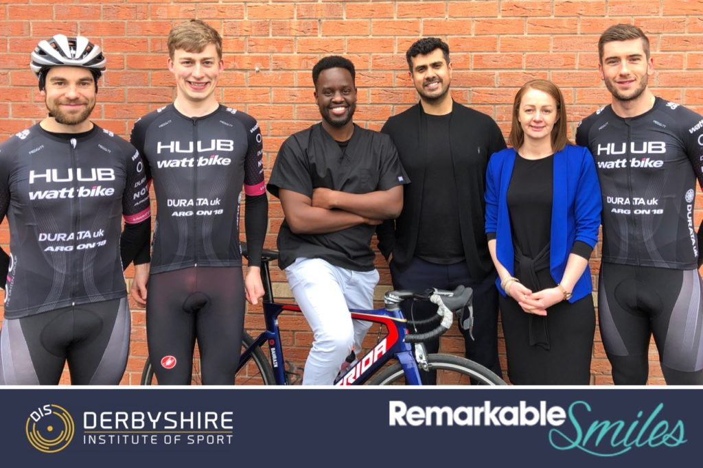 Remarkable Smiles and athletes from Derbyshire Institute of Sport