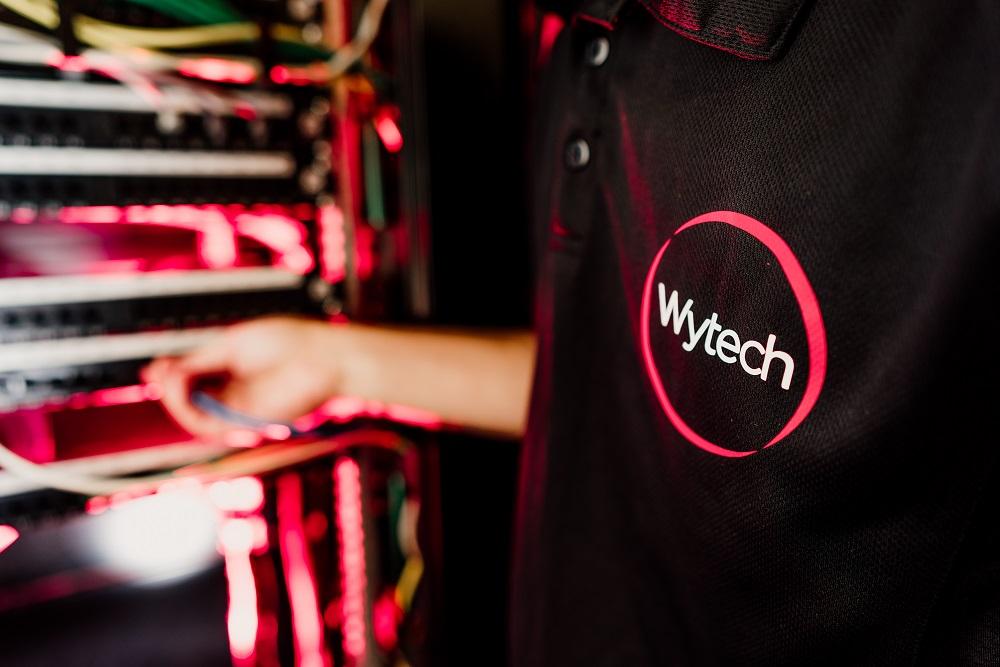 Wytech employee at work