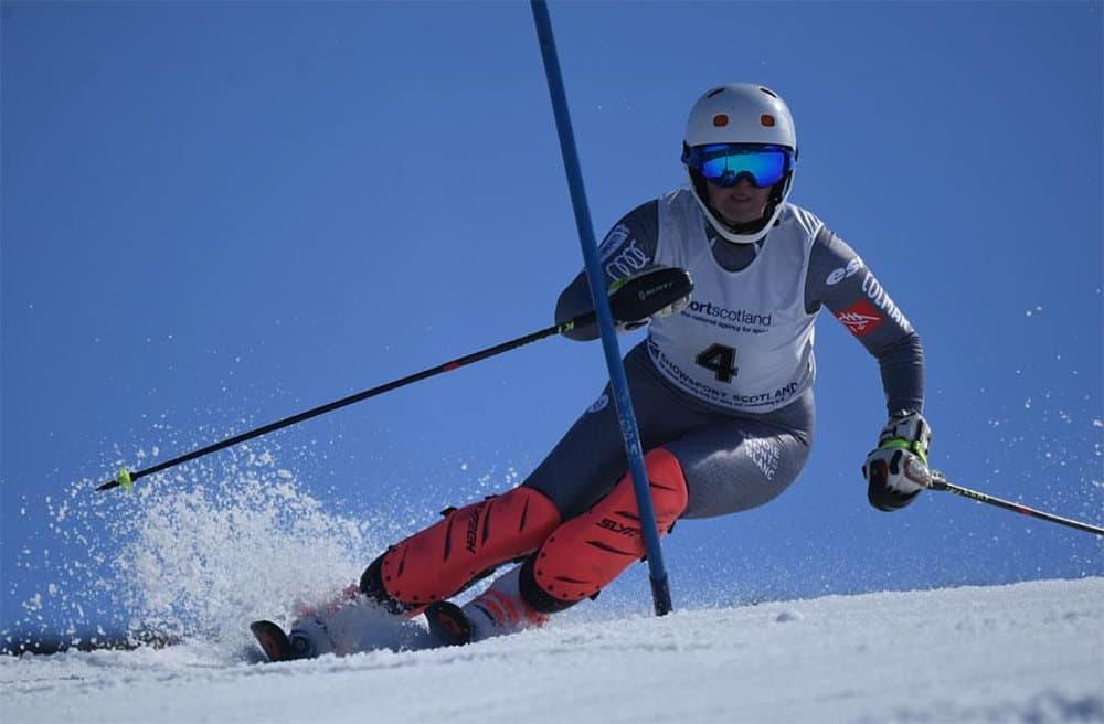 World Class Skier from Derbyshire