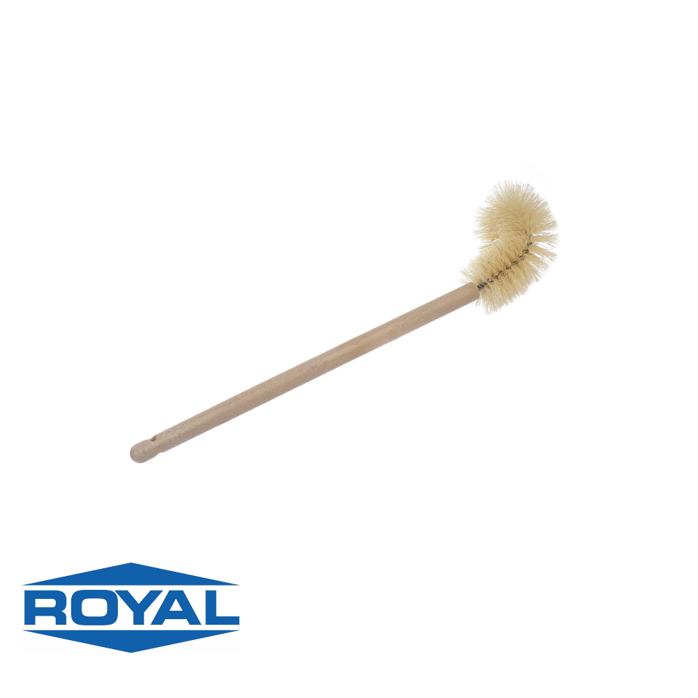 #924 - Twisted In Wire White Tampico Bowl Brush