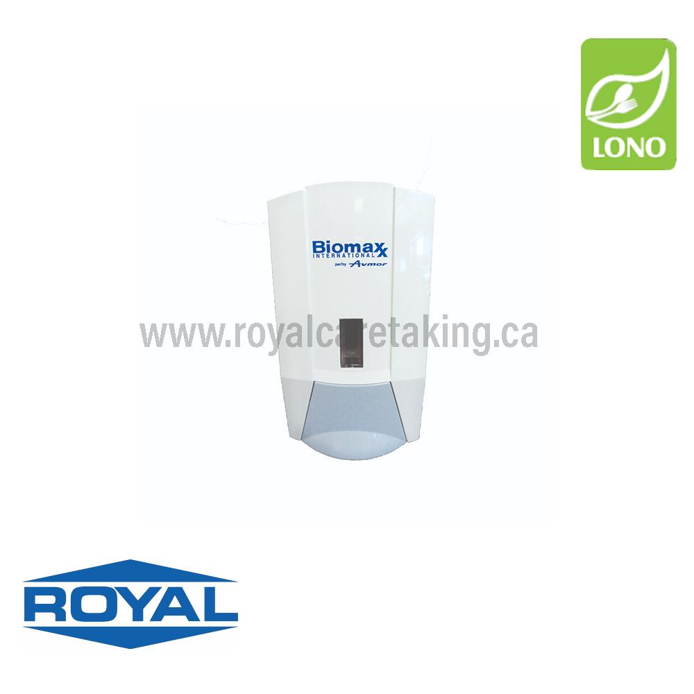 Avmor® - Biomaxx® Manual Dispenser White/Blue