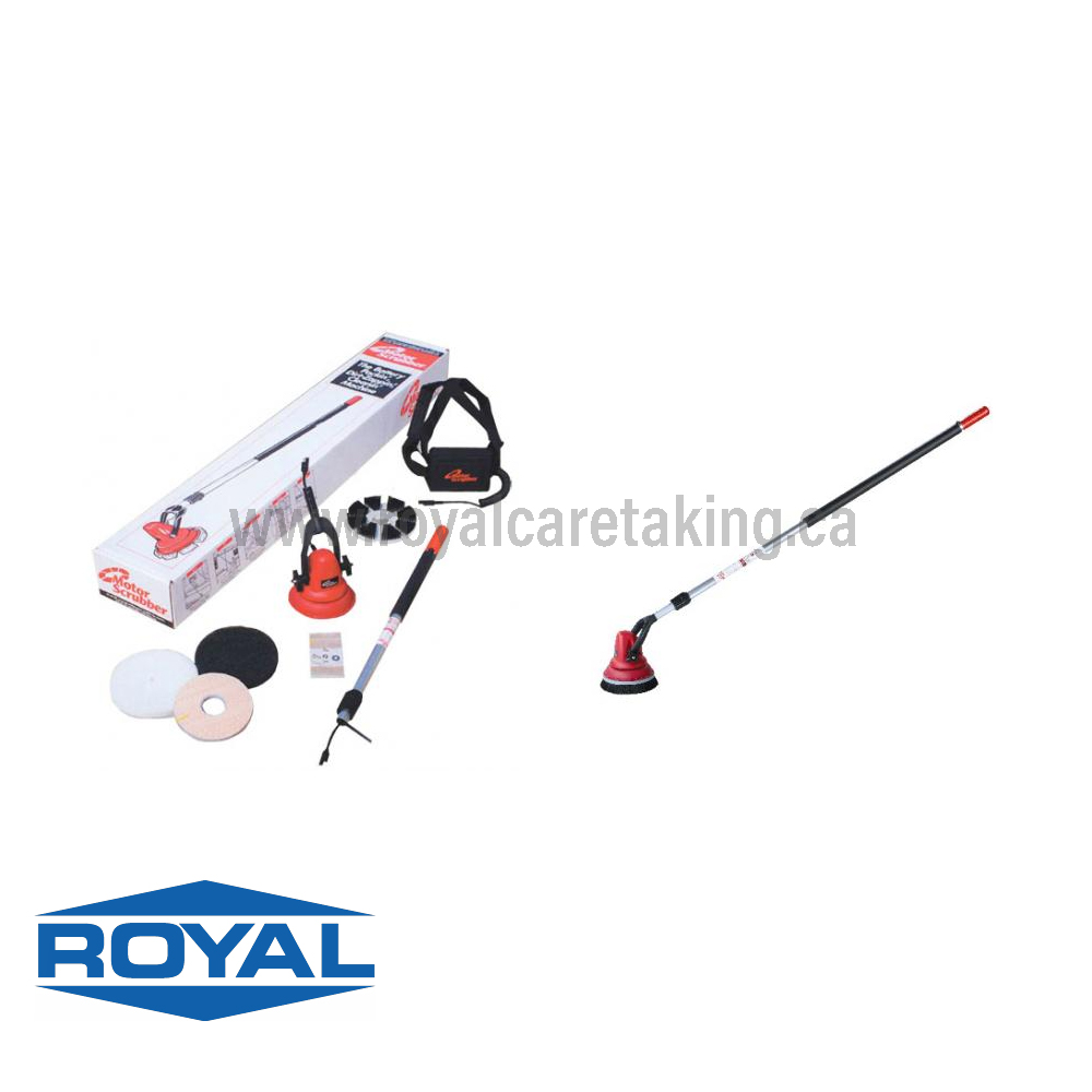 Motor Scrubber - Battery Operated