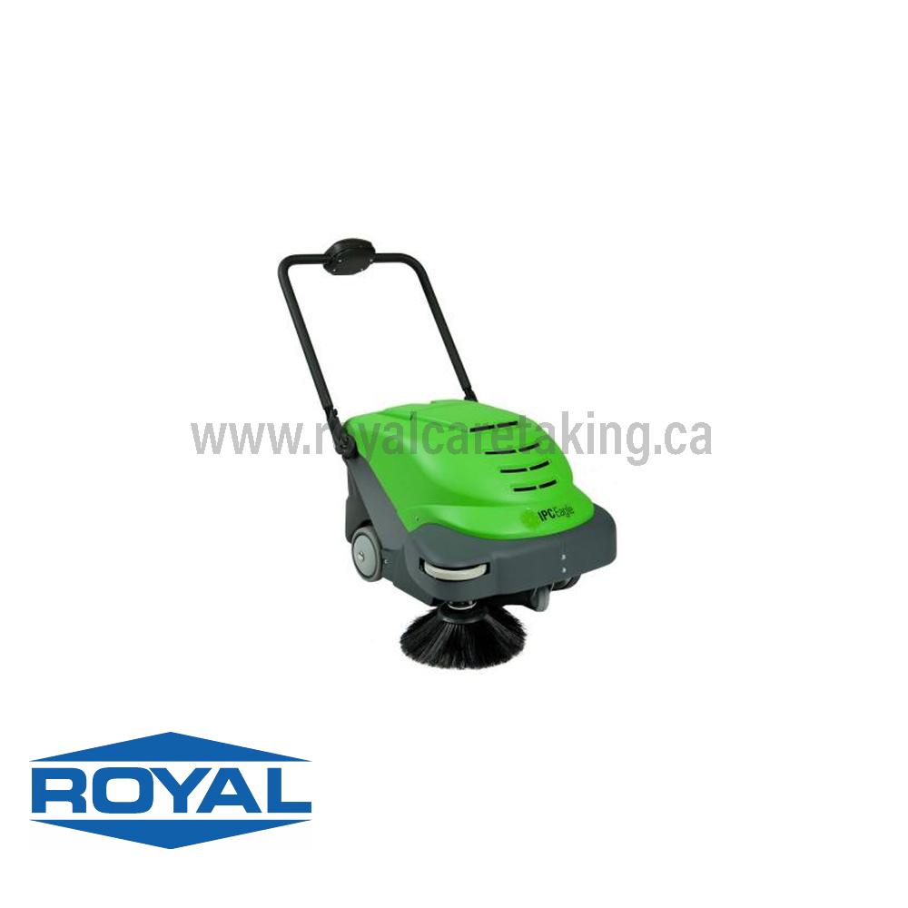 SMARTVAC Battery Vacuum Sweeper
